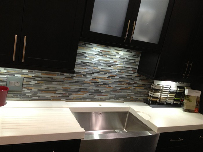 6 of 7 - Cool White Concrete Countertop