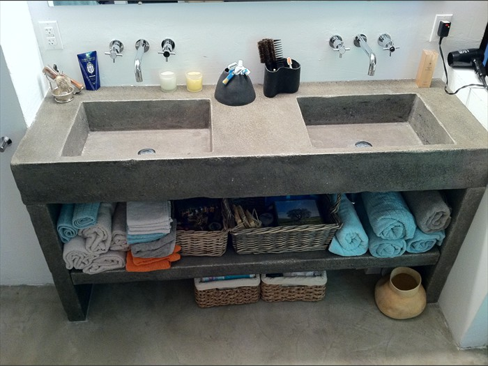 6 of 38    |    Rustic Nova Double - Concrete Sink - Original