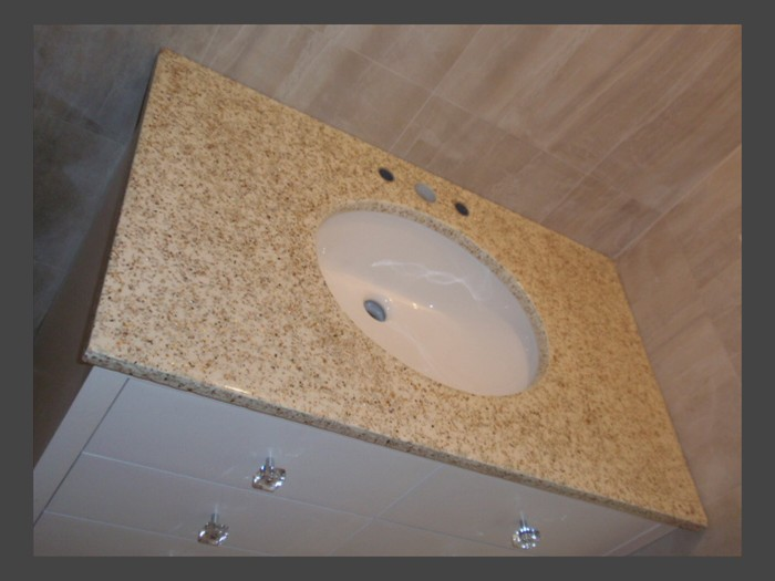 32 of 38    |    Terrazzo Vanity Top - Undermount Sink